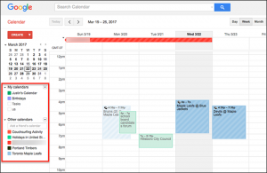 Managing Your Schedule with Google Calendar