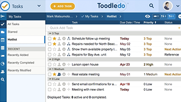 Manage your Tasks with Toodledo